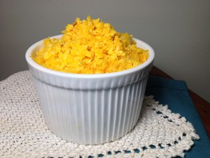 Delicious Paleo Saffron Rice