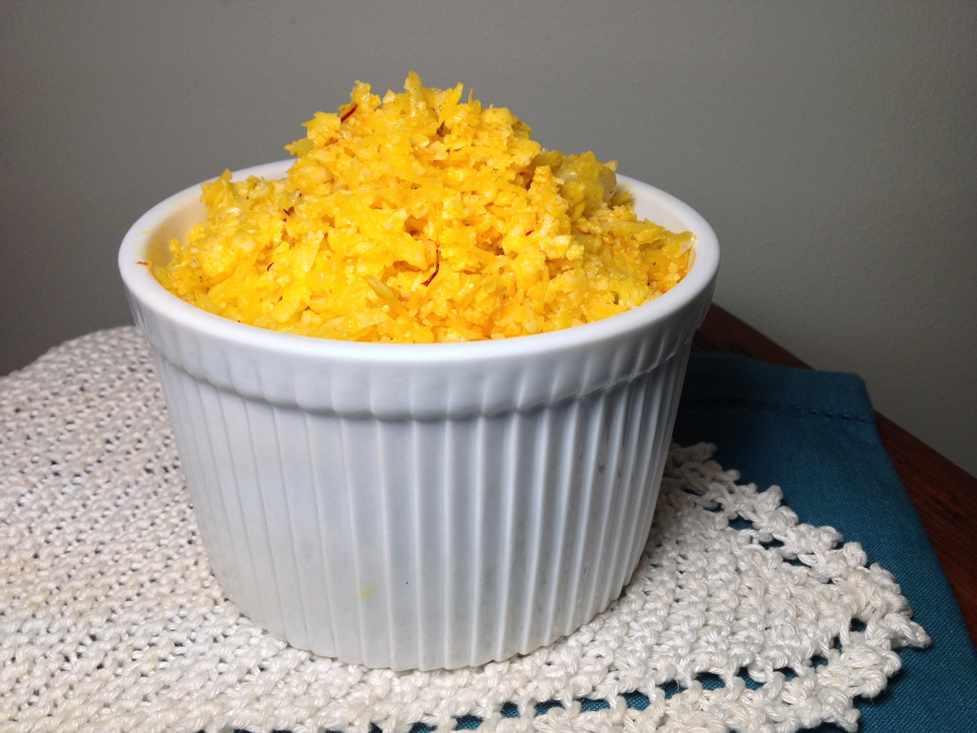 Delicious Paleo Saffron Rice