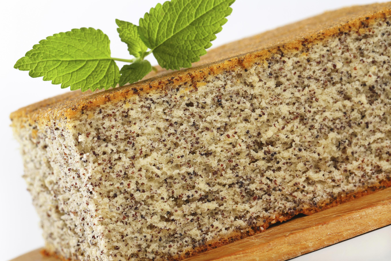 Paleo Orange Poppyseed Cake