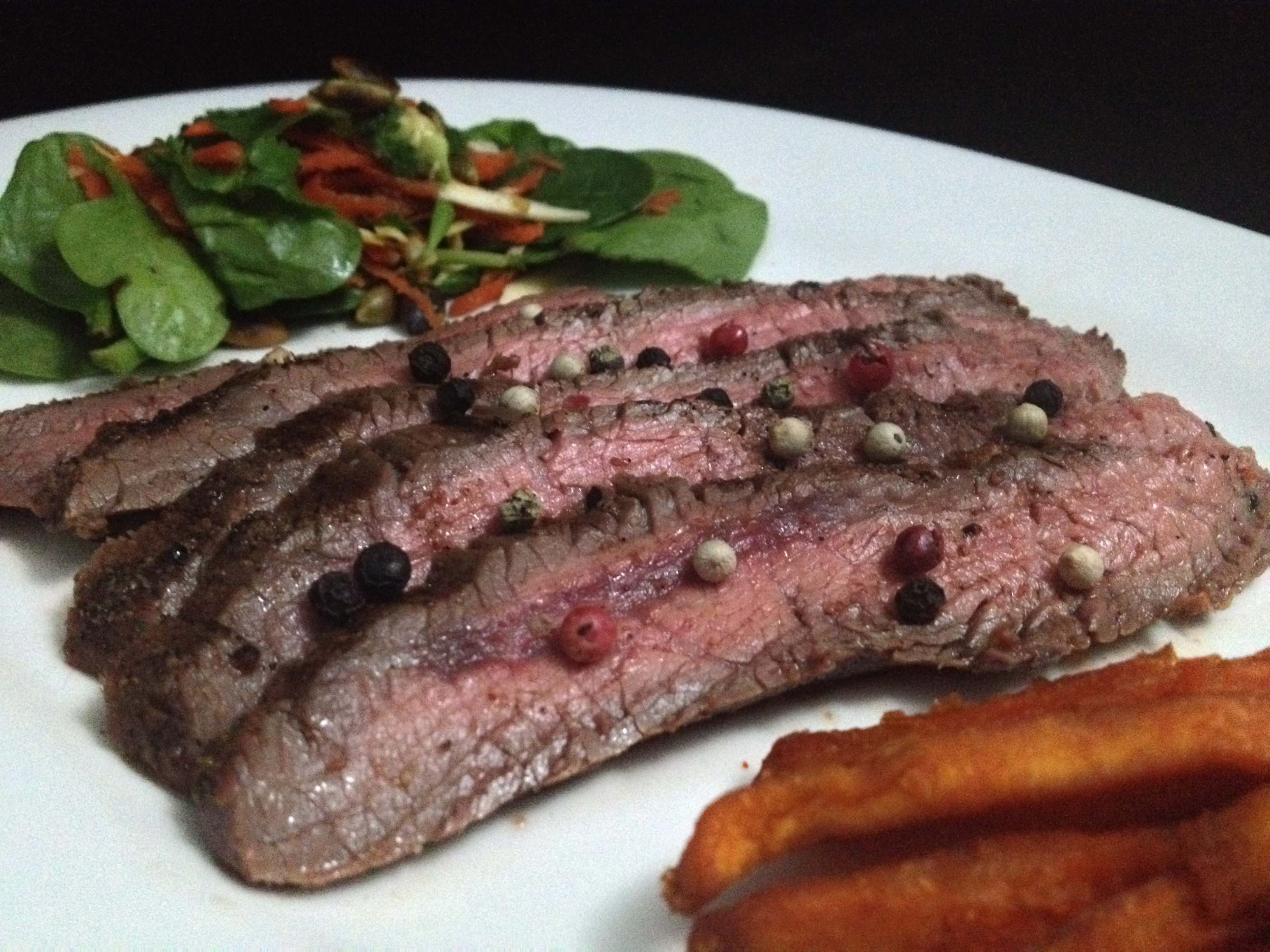 Paleo Grass-fed Sirloin Steaks