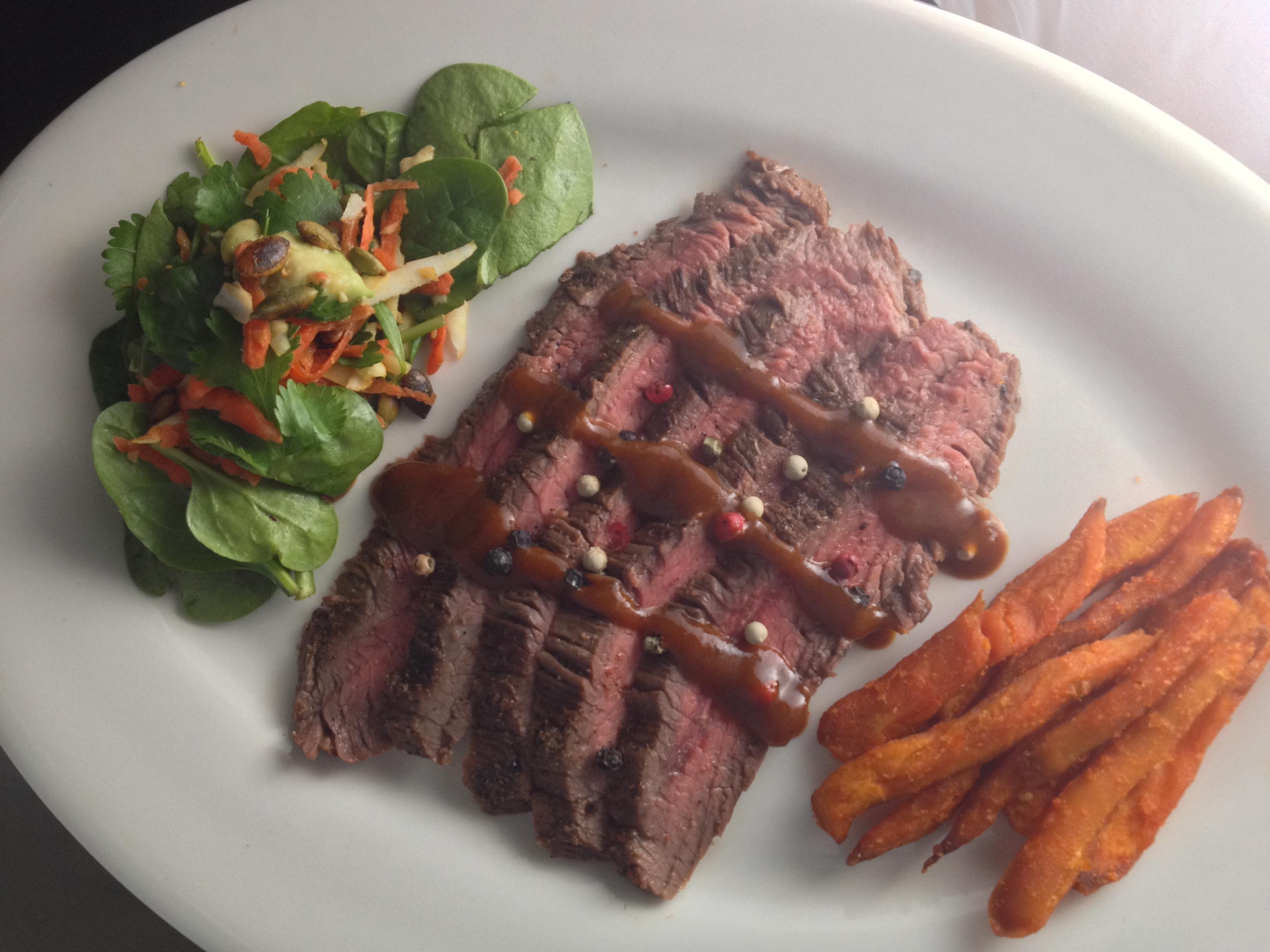 Paleo Grass-fed Sirloin Steaks2