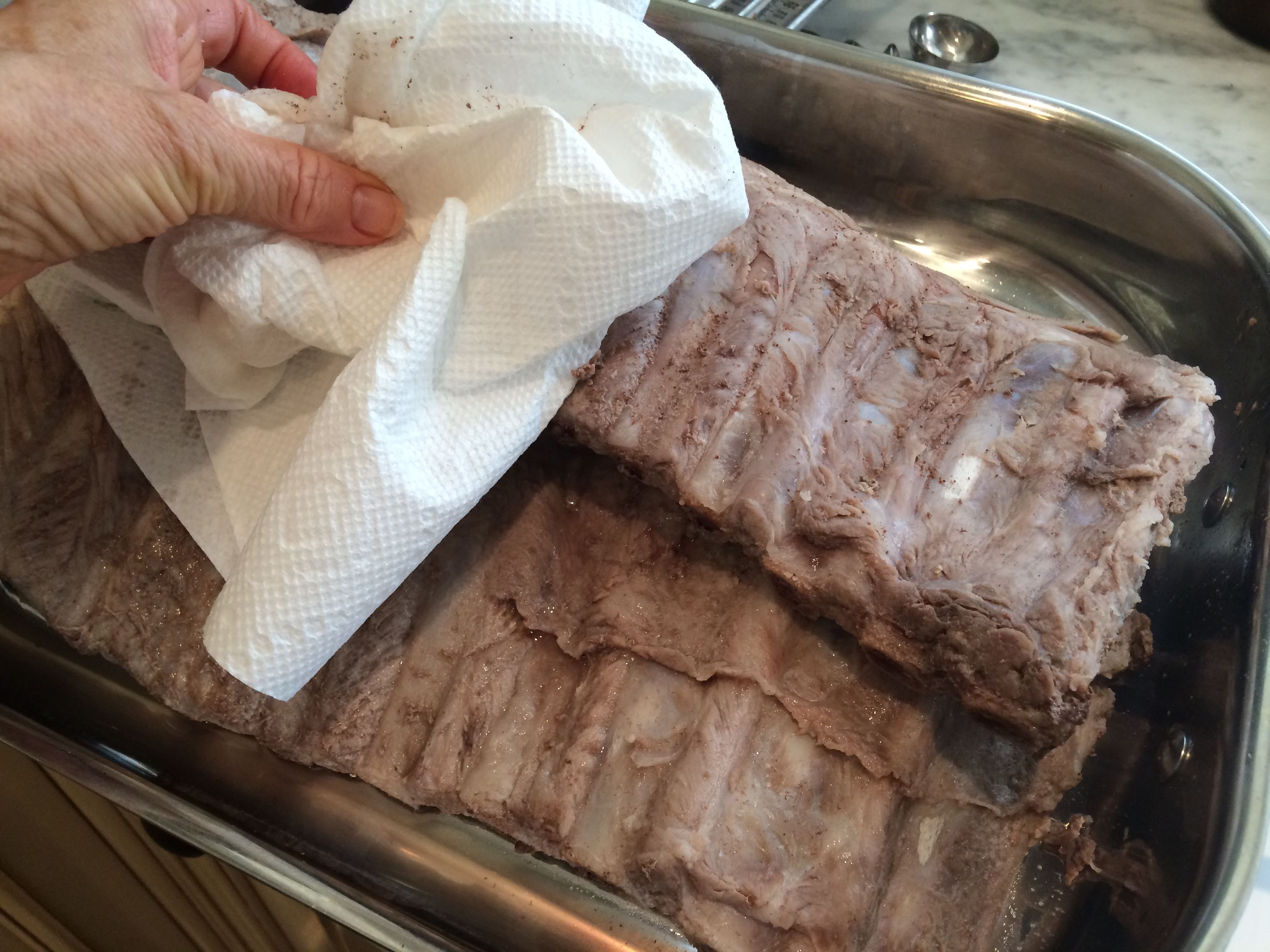 Drying the Ribs