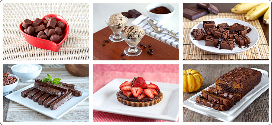Living Healthy With Chocolate Desserts