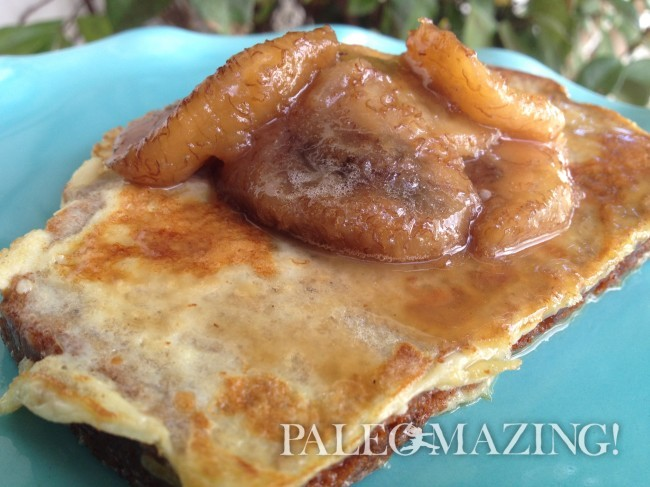Paleo Banana French Toast