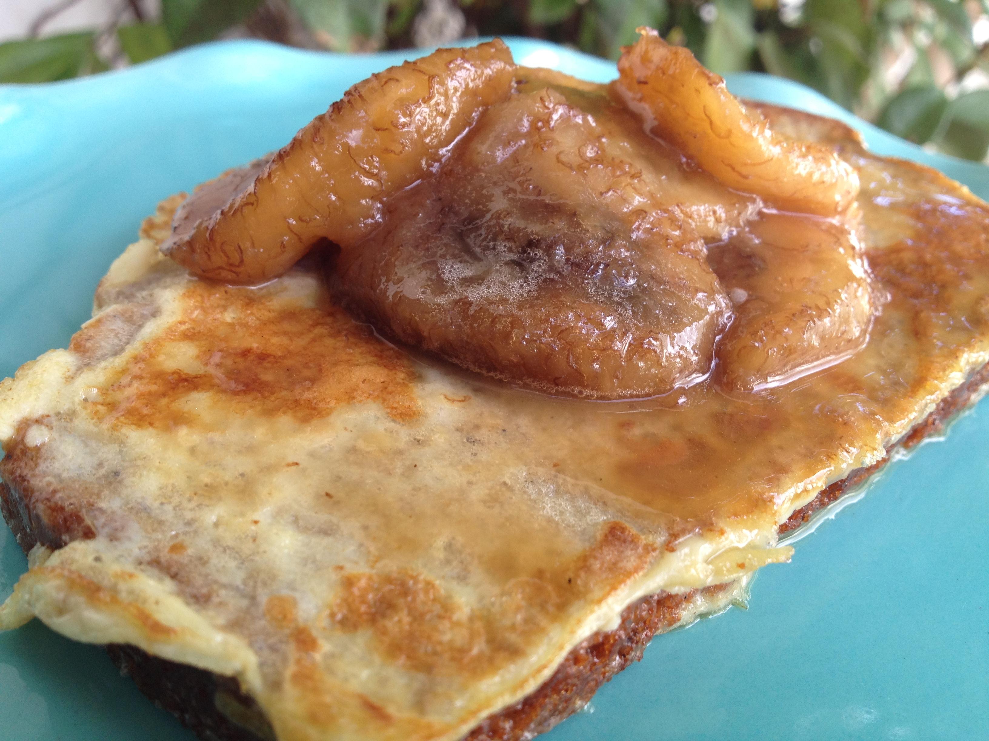 Paleo Banana French Toast