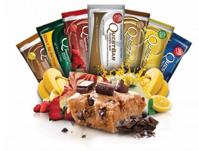 Quest Protein Bars & Chips