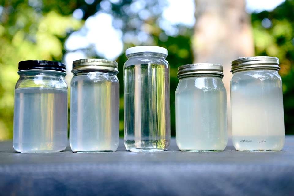 Coconut Oil Differences - Skinny Oil (Center)