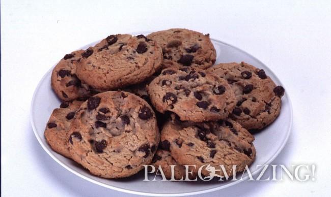 Paleo Chocolate Chip Bloom Cookies