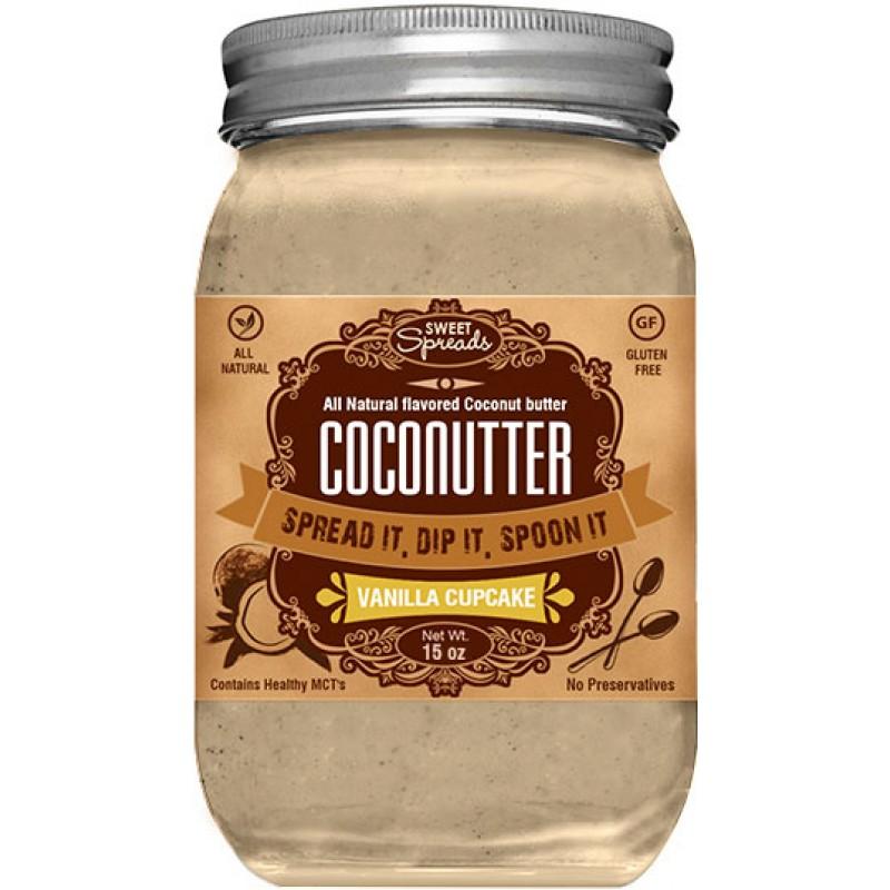 Sweet Spreads Vanilla Cupcake Coconutter