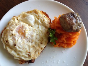 Paleo Eggs & Bone Marrow