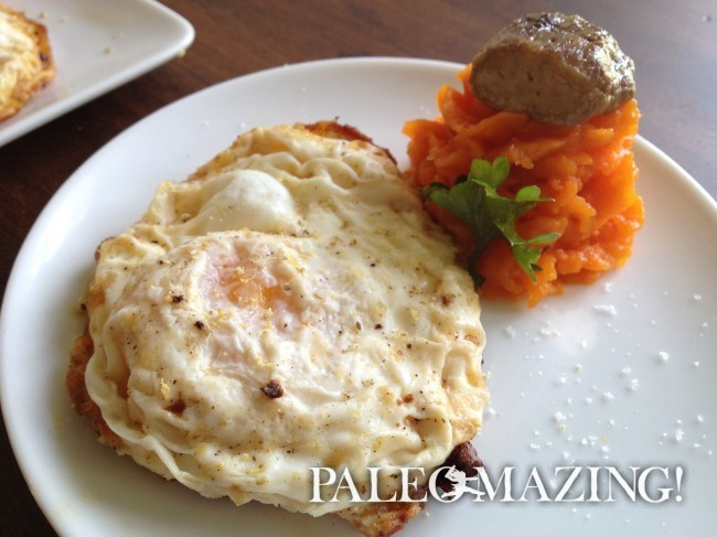 Breakfast Eggs with Bone Marrow