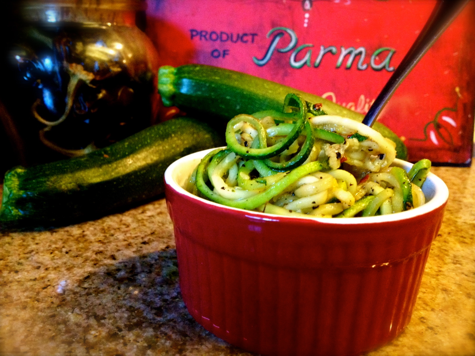 Herbed Ghee with Zoodles