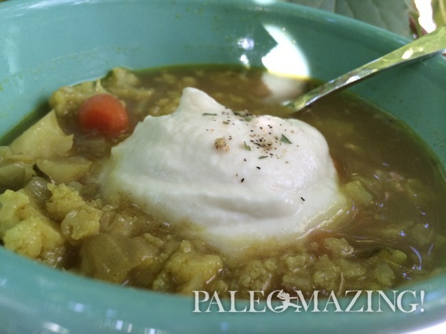 Alice Waters' Cauliflower Soup