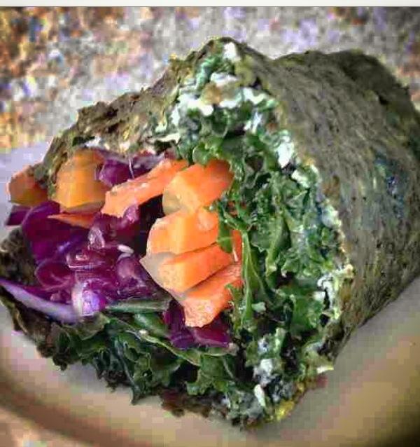 Paleo Zucchini Cumin Wrap