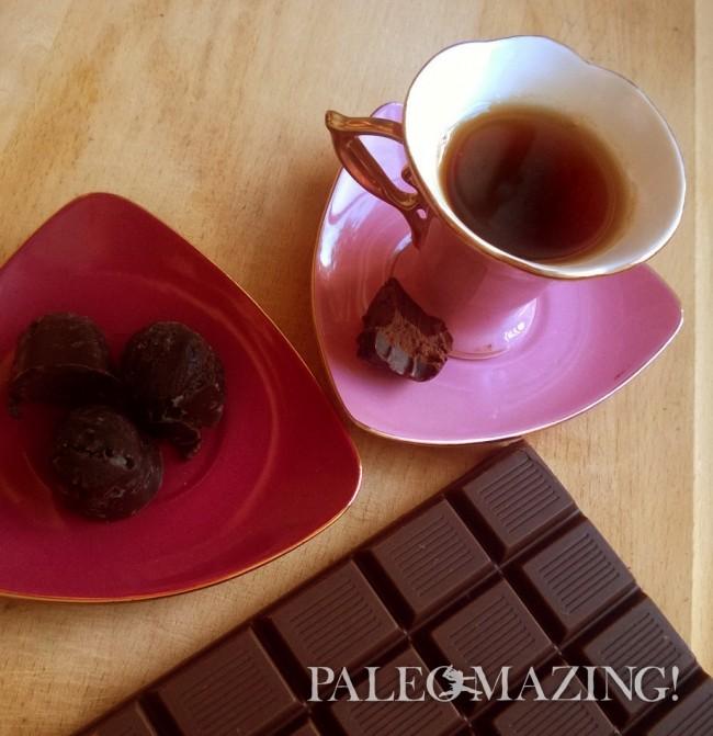 Tea Infused Dark Chocolates