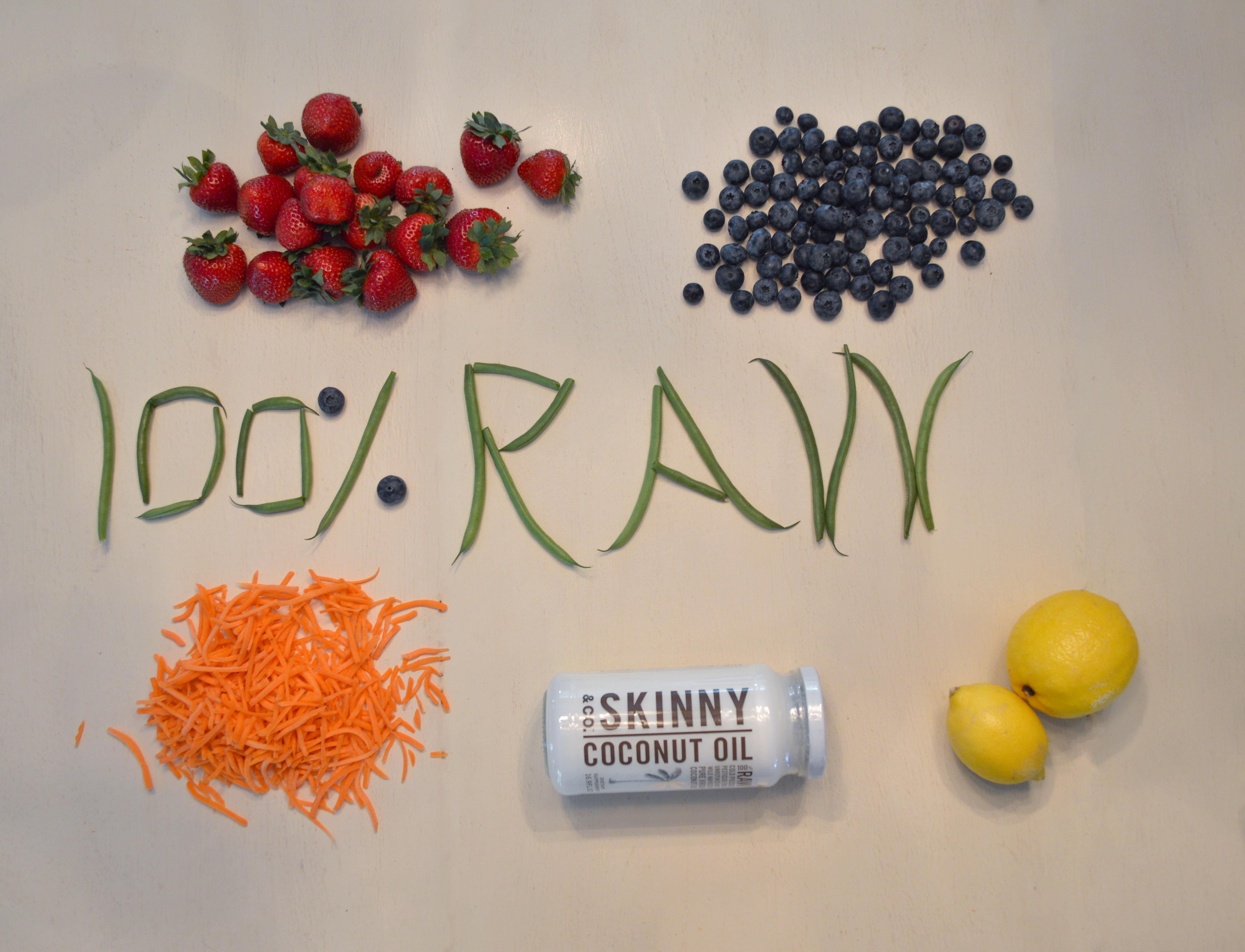 100% Raw Coconut Oil