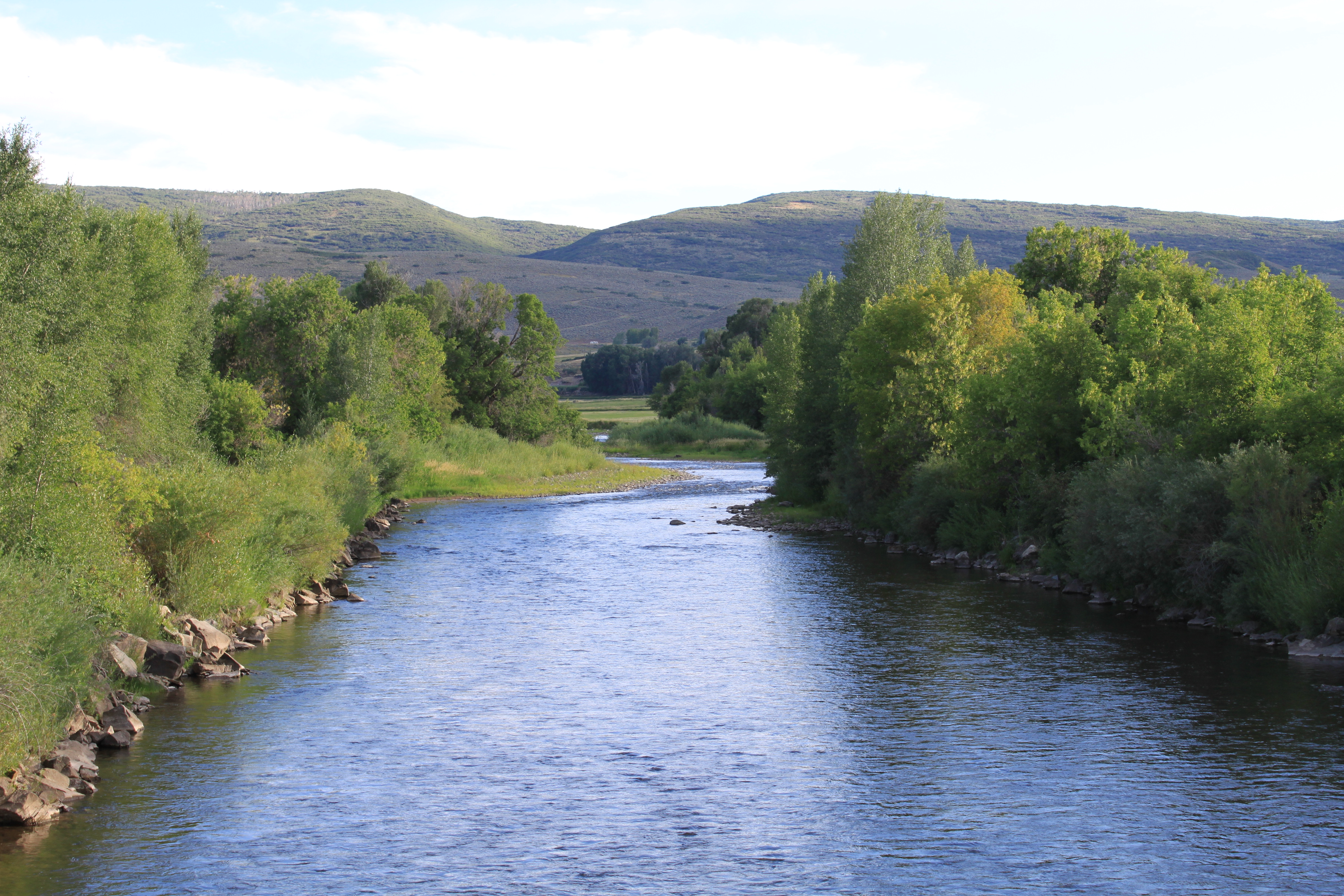 The White River, Meeker, CO