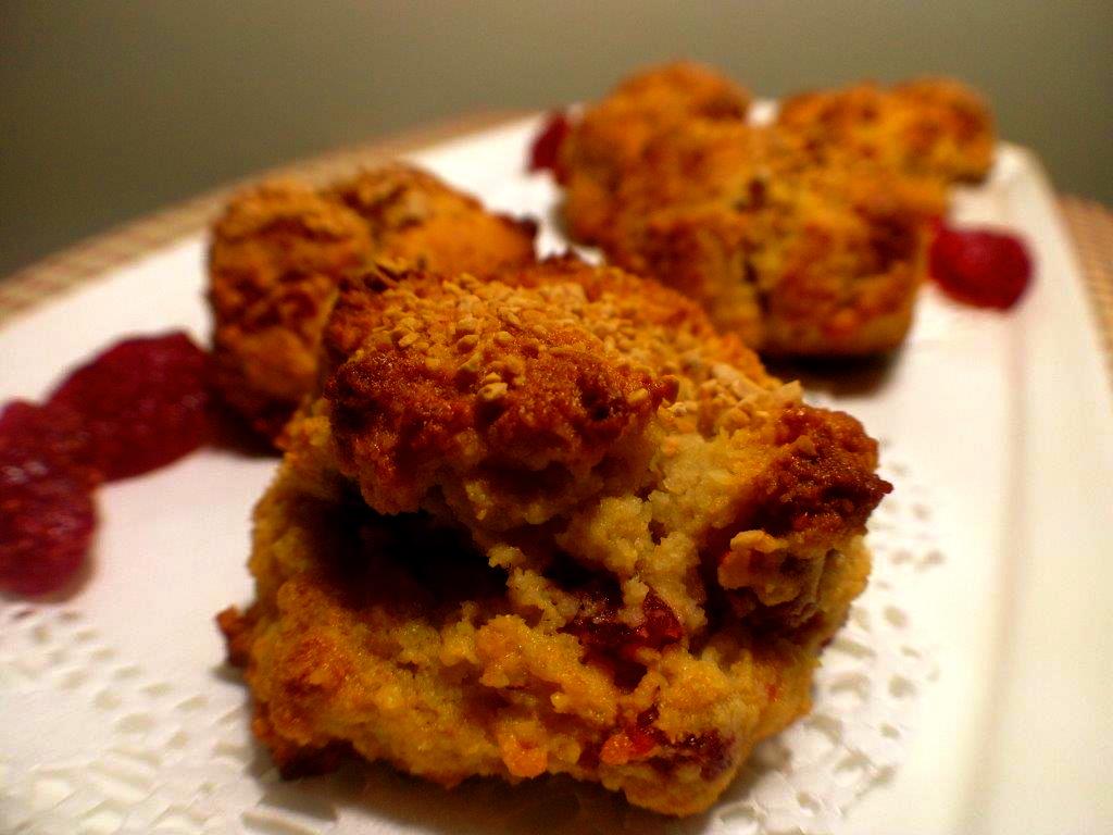 Paleo Strawberry Surprise Muffins