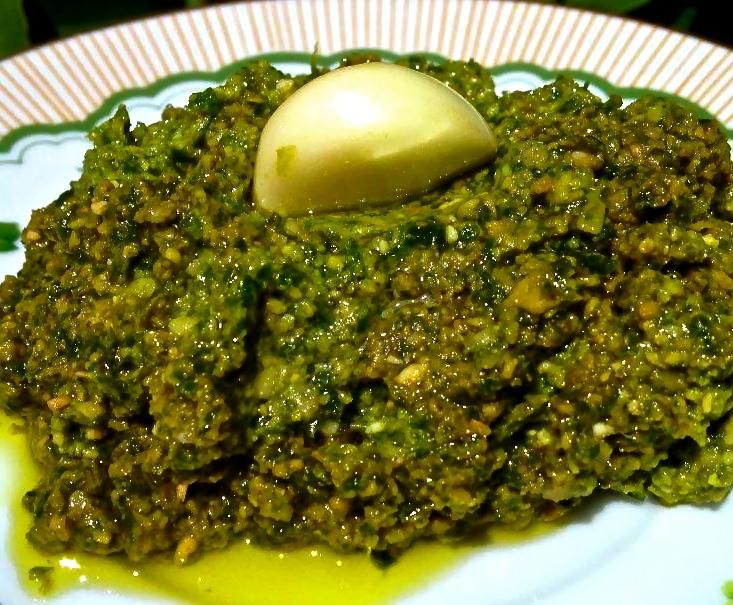 Paleo Hemp Seed Basil Pesto