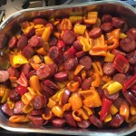 Easy Paleo Sausage and peppers