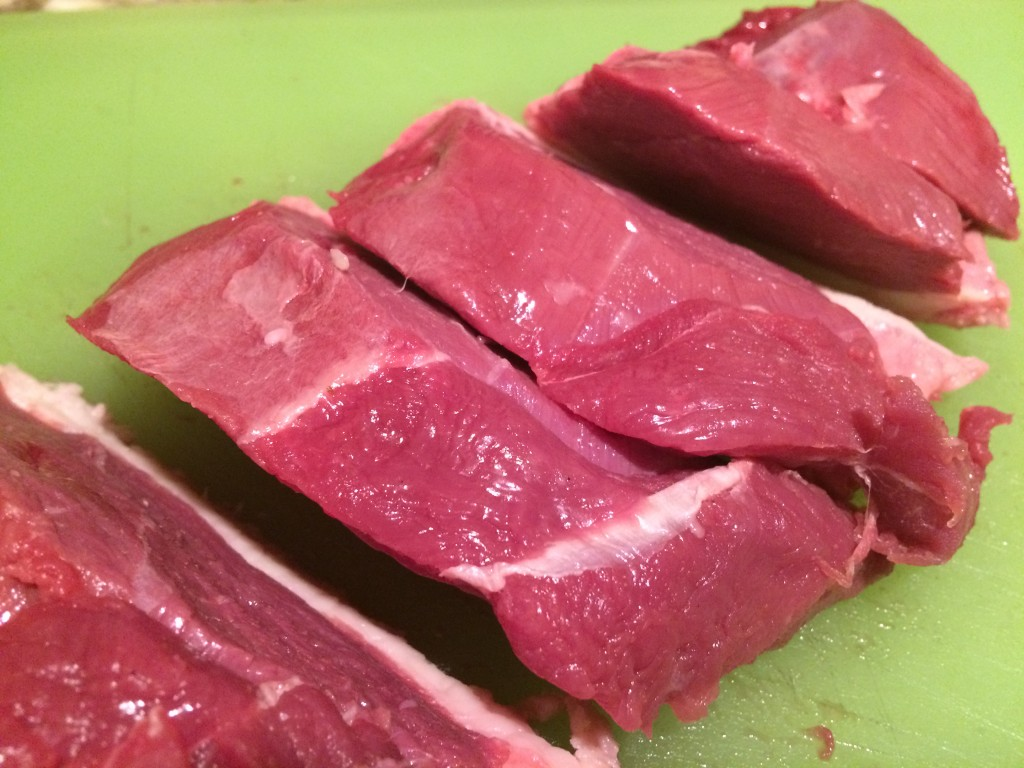 Duck Breast Easy Stove Top Style - Raw pieces