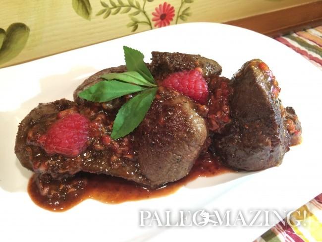 Venison Steaks Paleo Style