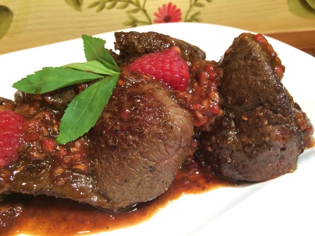 Venison steaks paleo style finale
