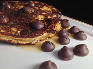 Paleo Chocolate Chip Pancakes4