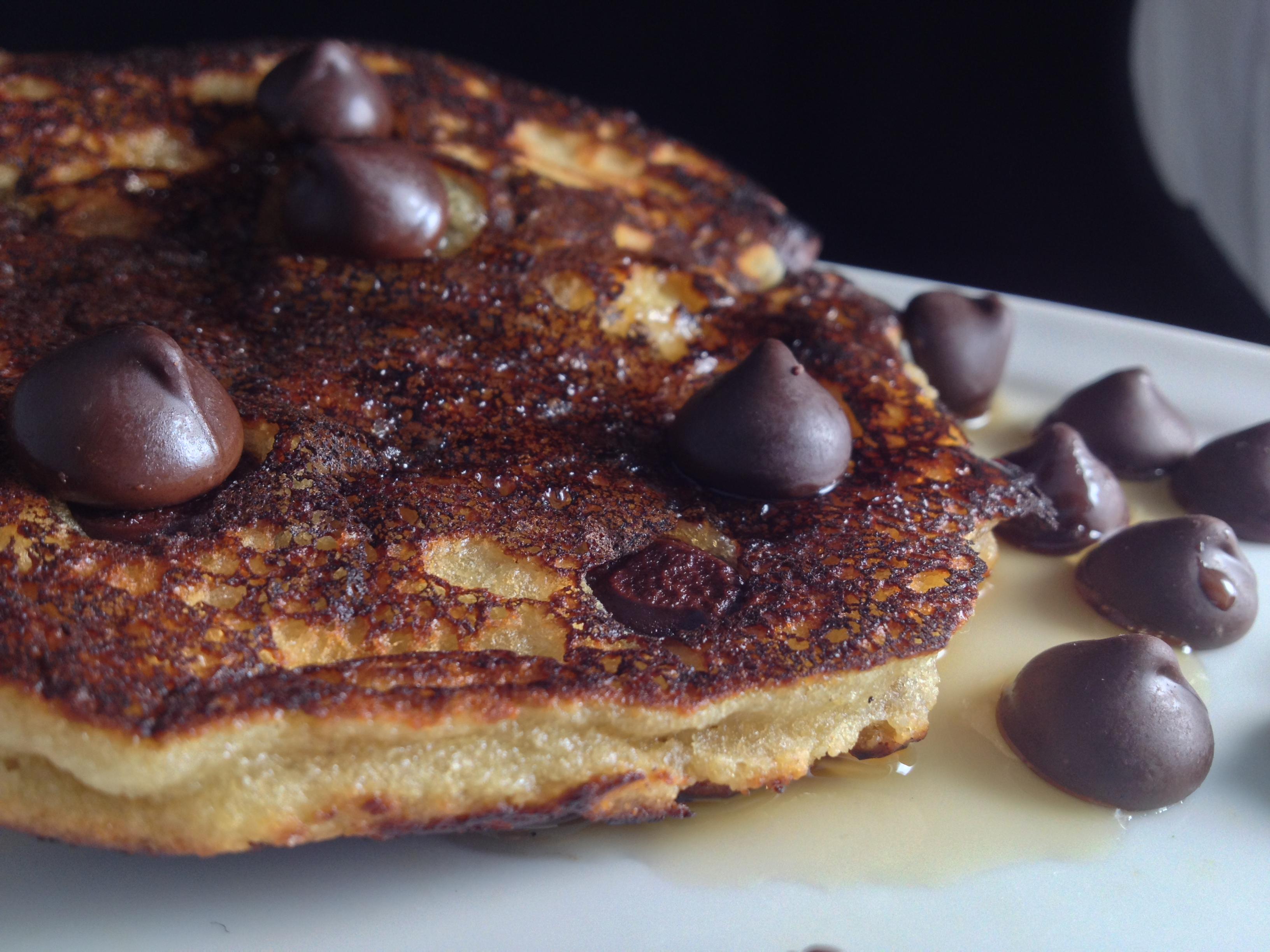 Paleo Chocolate Chip Pancakes3