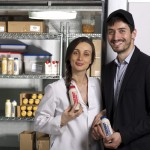 Mariam Kinkladze and George Papanastasatos Co-founders of Organic Gemini