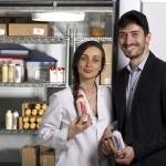 Mariam Kinkladze and George Papanastasatos Co-founders of Organic Gemini