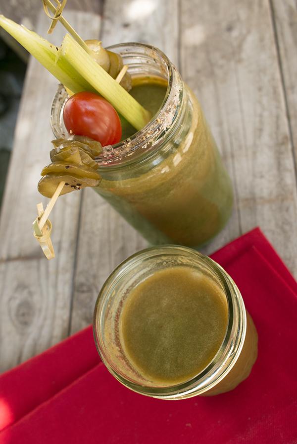 Farmhouse Kraut veggie smoothie