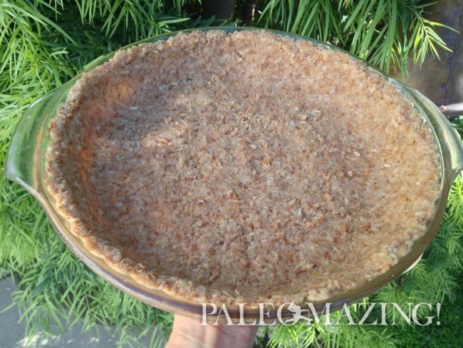 Coconut Pie Crust or Coconut Tart Crust
