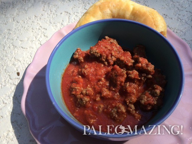 Paleo Spaghetti Sauce – Quick and Low Carb