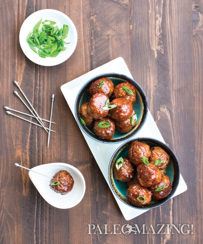 Honey Chipotle Meatballs