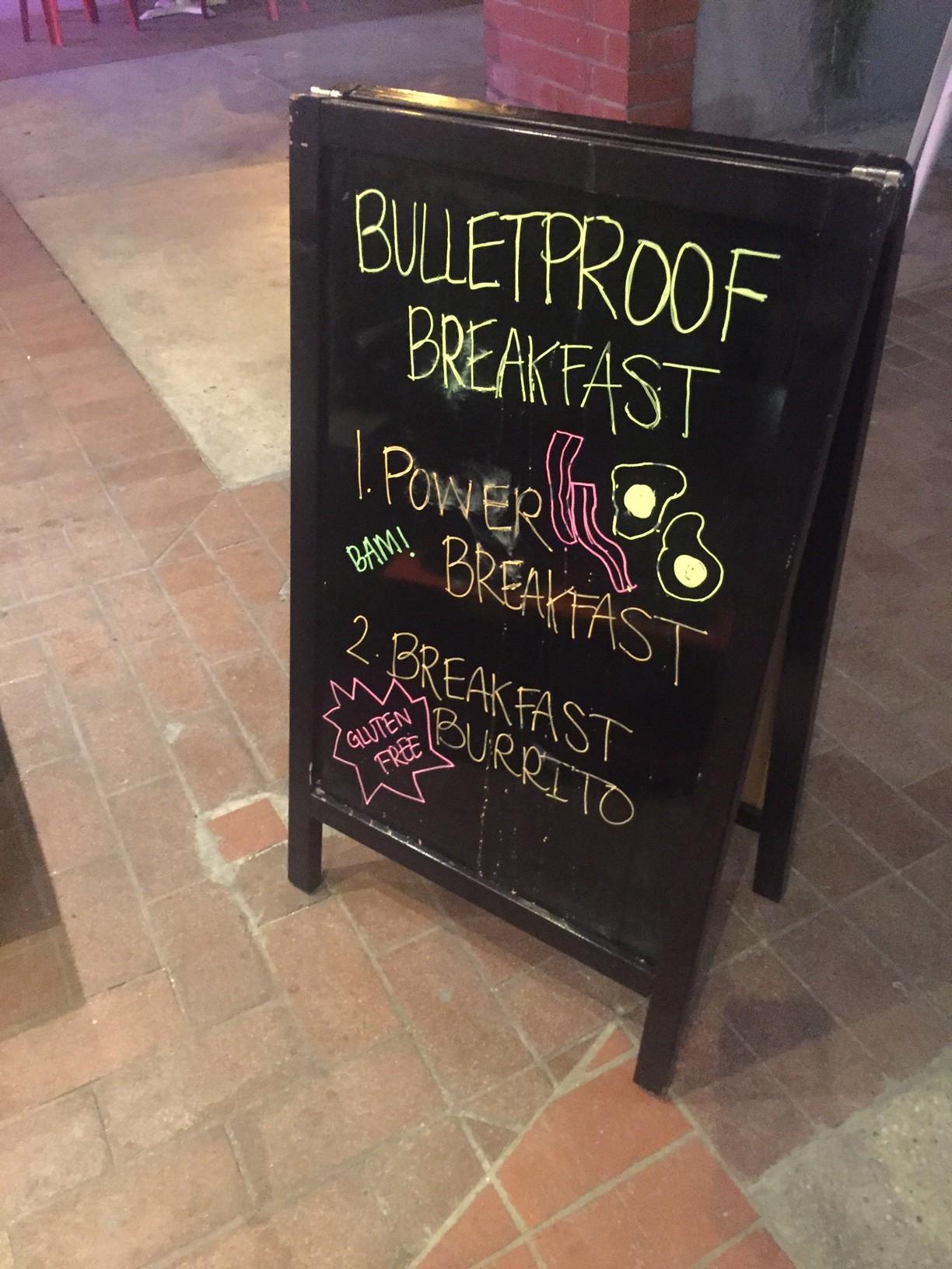 Bulletproof Coffee Shop in Santa Monica 1