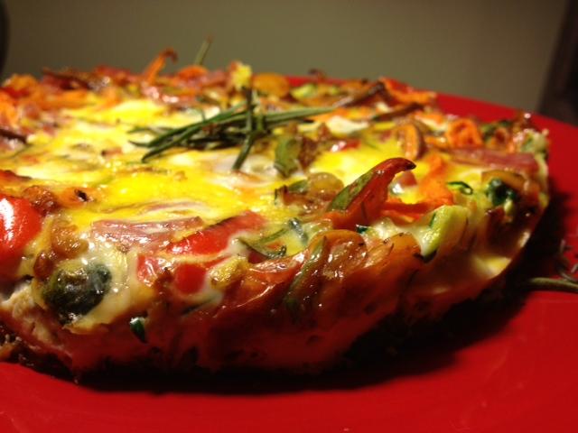 Tina's Paleo Crustless Tuscan Tart last