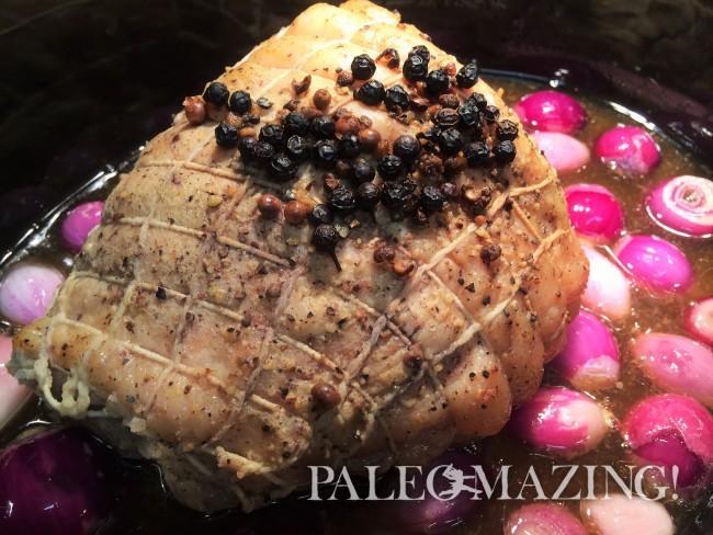 Paleo Boneless Pork Roast