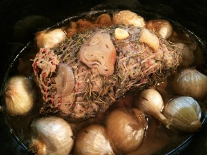 Paleo Leg of Lamb, for Saint Patrick's Day 3