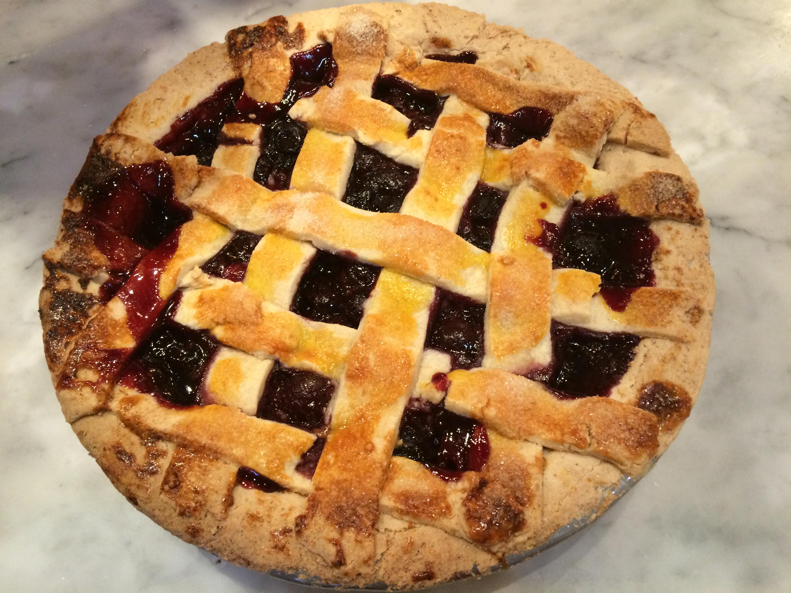Cherry Pie - Paleo and Gluten-Free