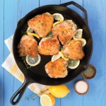 Lemon and Thyme Chicken thighs