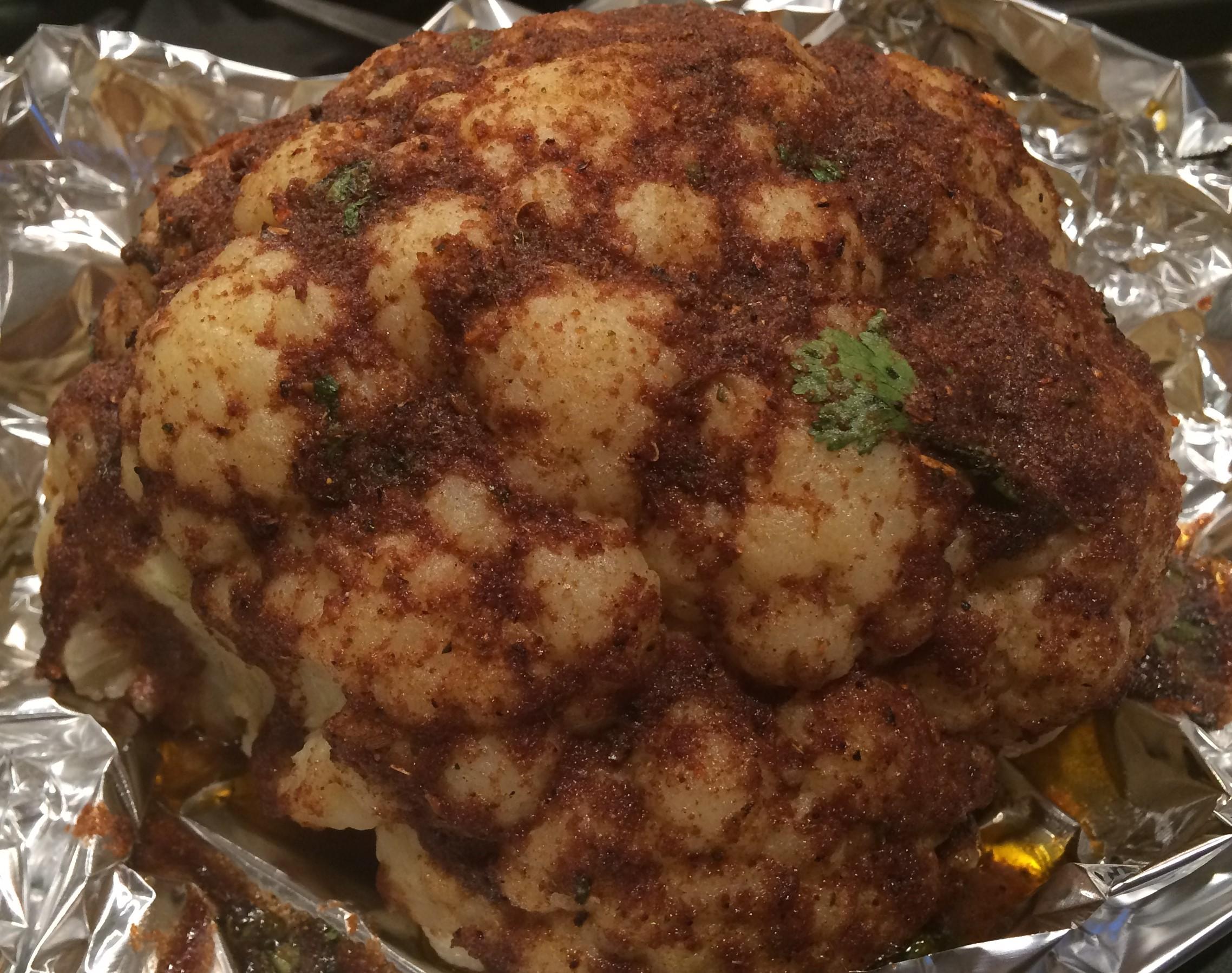 Roasted Indian Cauliflower