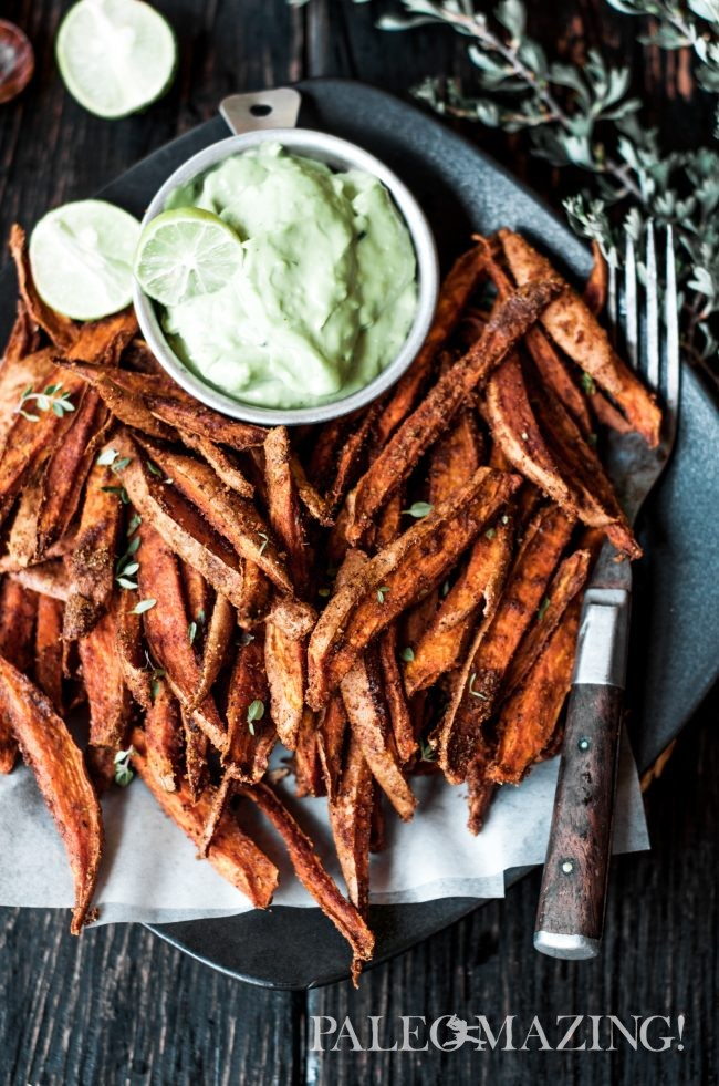 Cumin Spiced Sweet Potato Fries