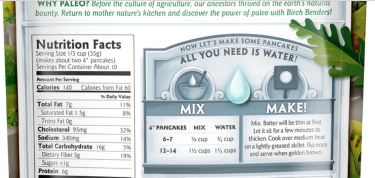 Birch Benders Paleo Pancake and Waffle Mix