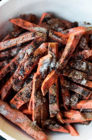 cumin spiced sweet potato fries 5