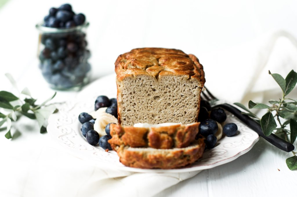 5 minute paleo banana bread 1