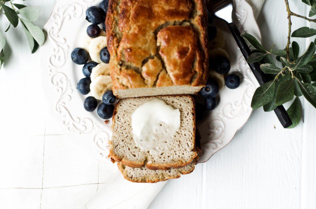 5 minute paleo banana bread 2