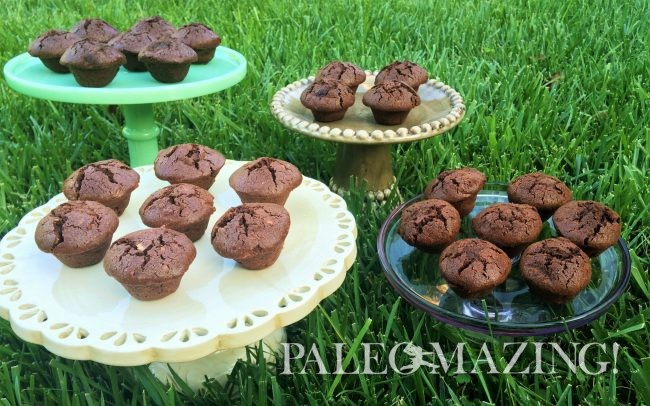 Gluten Free Chocolate Brownie Mini Muffins Heaven – OMG!