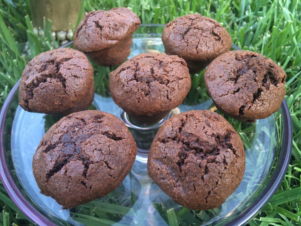Gluten Free Chocolate Brownies Mini Muffin Heaven– OMG! 4