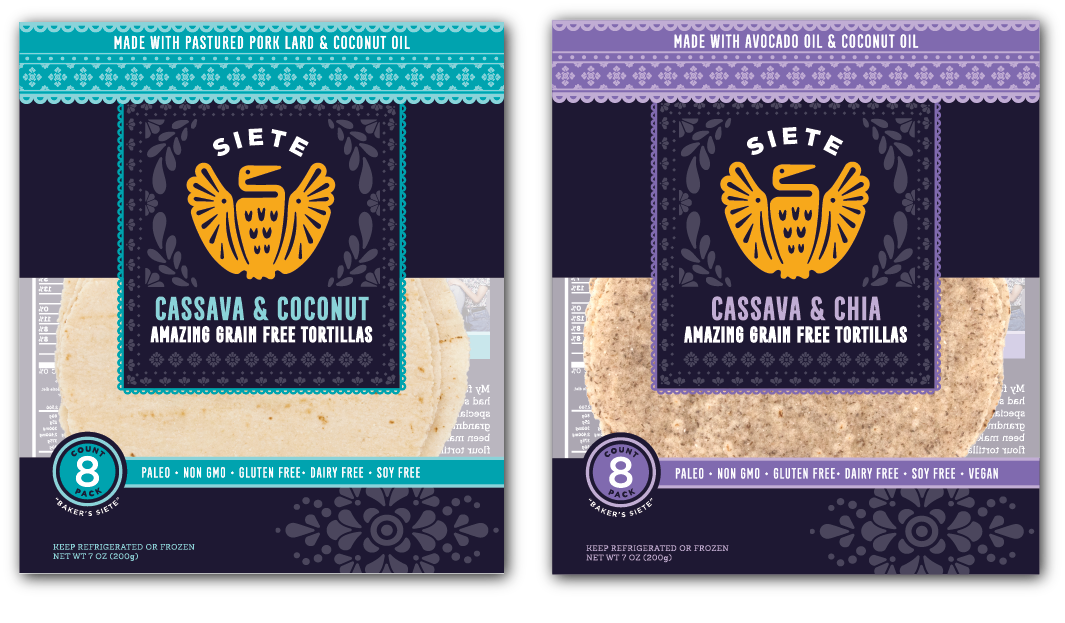 paleo tortillas from siete foods additional
